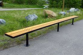 park benches custom park u0026 leisure