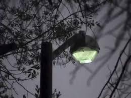 Mercury Vapor Lights 400w Mercury Vapor Street Light Youtube