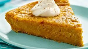 impossibly easy pumpkin pie recipe bettycrocker