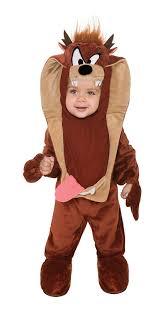 duck halloween mask amazon com looney tunes taz romper costume clothing