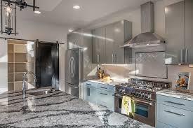 Dura Supreme Cabinet Construction Modern Kitchen With Undermount Sink One Wall Dura Supreme