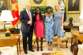 White House Interior Pictures by President Trump Hosts Chibok Schoolgirls At The White House