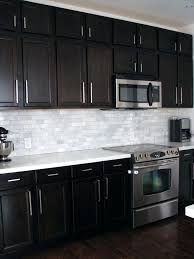 cuisine design backsplash for espresso cabinets best images on kitchens kitchen and
