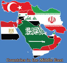 Middle East Map Countries by Geography Archives Whatcountries