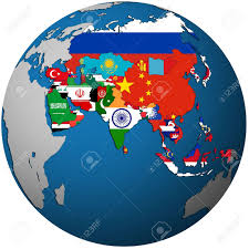 Map Of Asia Countries by Asia Map Stock Photos U0026 Pictures Royalty Free Asia Map Images And