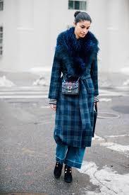 tartan vs plaid street style at nyfw 2017 fashion vs style beyond fashion magazine