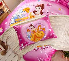 disney girls bedding diamond princess bedding girls comforters cotton fabric bed sheet
