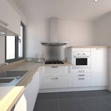 plan de travail cuisine blanche cuisine blanche design meuble iris blanc collection avec cuisine