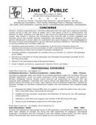 sample hotel concierge resume hotel concierge resume objective