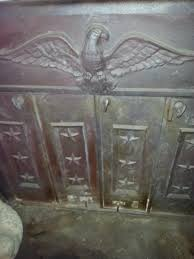Franklin Fireplace Stove by Americana Cast Iron Wood Burning Stove With Eagle And Stars