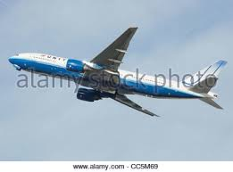 United Airline Stock Boeing 777 200 Of United Airlines Stock Photo Royalty Free Image