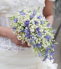 wedding flowers valley a teardrop bouquet of lavender florets and of the valley i