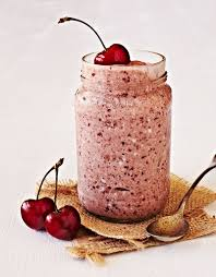 milkshake photography raw cherry coconut ice cream food lifestyle photographer crystal