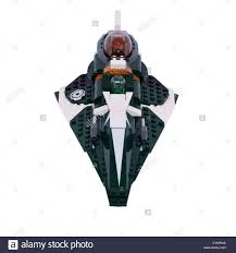a lego star wars toy on a white background stock photo royalty