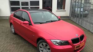 matte red bmw bmw e90 red chrom matt metallic starfolia youtube
