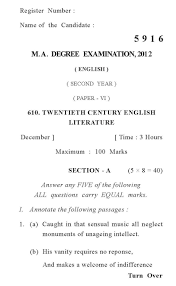 annamalai university old question papers ma english 2017 2018 annamalai university ma english question paper