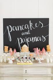 pancakes and pajamas a k a the best sleepover idea