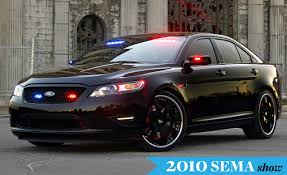jeep police package ford debuts stealth police interceptor concept at sema car and