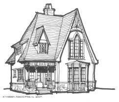 Victorian House Drawings by Architectural Tutorial Victorian Style Visbeen Architects
