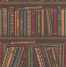 wallpaper that looks like bookshelves history shelf by albany multi coloured wallpaper direct