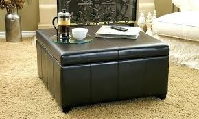 black leather square ottoman black leather square ottoman intuitivewellness co