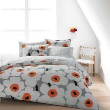 Orange And White Bedroom Amazing Best 25 Orange Bedding Ideas On Pinterest Orange Bedroom Decor Intended For Orange And Grey Comforter Jpg
