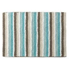 Jc Penney Bathroom Rugs Jcpenney Home Cotton Reversible Stripe Bath Rug Collection Jcpenney