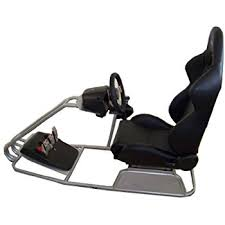 Racing Simulator Chair Gtr Simulator Gts Model With Adjustable Racing Seat