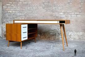 bureau teck massif bureau bois scandinave table de bureau en bois bureau bois design