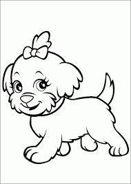 polly pocket pet coloring pages preschoolers coloring point