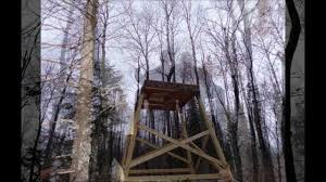 Stand Up Hunting Blinds Tower Deer Stand With