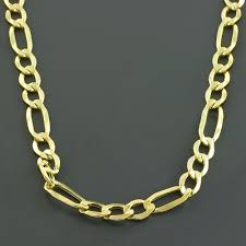 figaro mens necklace images 14k gold figaro necklace for men 24 quot only 1 295 00 mens necklaces