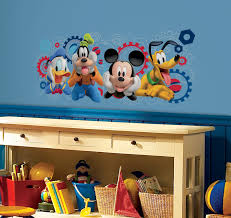 rmk mickey friends mouse clubhouse capers giant mickey friends mouse clubhouse capers giant wall stickers