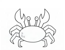 Nice Decoration Crab Coloring Page Free Printable Pages For Kids Crab Coloring Page