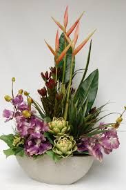silk floral arrangements interior decoration artificial flower arrangements for table decor