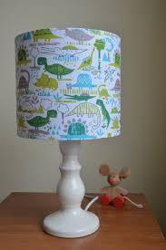Nursery Table Lamps Dinosaur Lampshade Children U0027s Lampshade Nursery Lampshade
