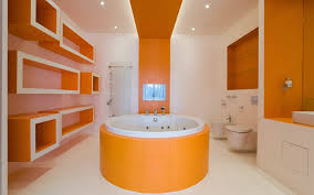 orange bathroom ideas 10 modern bathroom designs and ideas in orange color interior