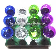 Multi Colored Solar Garden Lights by Glass Ball Stake Solar Light Multi Colored Solar Garden Lights