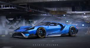 widebody chevy truck 2017 ford gt