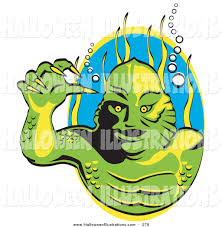 royalty free stock halloween designs of monsters