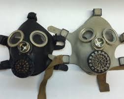 Halloween Costume Gas Mask Steampunk Children Etsy