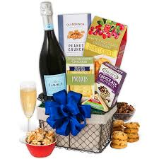 new gift baskets toasting to the new year gift basket by gourmetgiftbaskets
