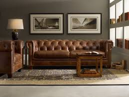 Chesterfield Sofa Images by Hooker Furniture Stationary Leather Chesterfield Sofa U0026 Reviews