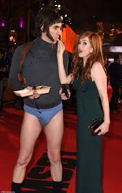 sacha baron cohen attends uk premiere of grimsby in his pants