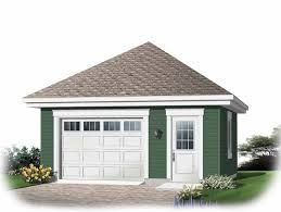 22x22 2 Car 2 Door Detached Garage Plans by Ideas About Small House Plans With Garage Attached Free Home