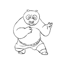 kung fu panda coloring pages 3 u2013 coloringpagehub