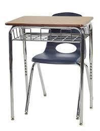 Open Front Desk Ecr4kids Open Front Desk W Wire Book Basket Elr 24102 Open