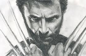 x men origins wolverine 2 hugh jackman speed drawing portrait