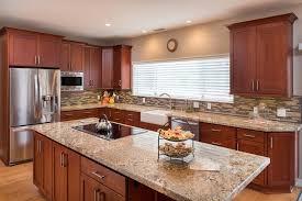faience cuisine cuisine faience beige et marron photos de design d intérieur et