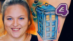 doctor who fan u0027s touching memorial tattoo to mum tattoo fixers